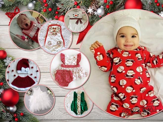 Снежинка, елочка, снеговик: новогодние костюмы для грудничков