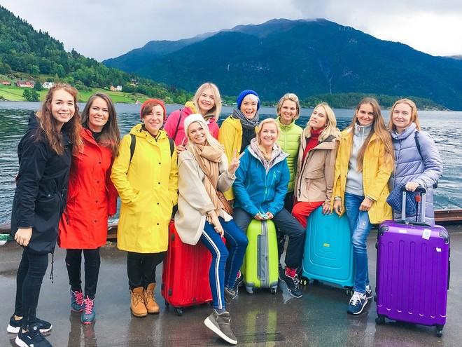 Северный путь: звездные мамы посетили загадочную Норвегию