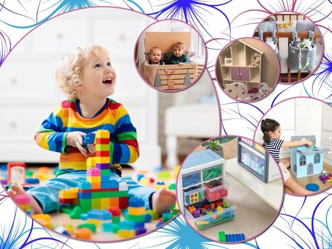 Будет порядок: 35 идей для хранения детских игрушек