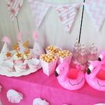 Кенди-бар в стиле Фламинго! Фото на Ваш суд, по-моему вышло стильно!))