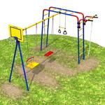 Детская игровая площадка для улицы.