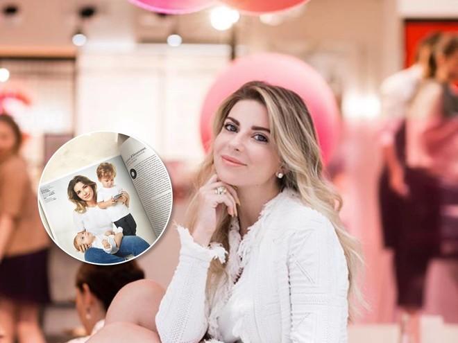 Галина Юдашкина впервые показала лицо младшего сына