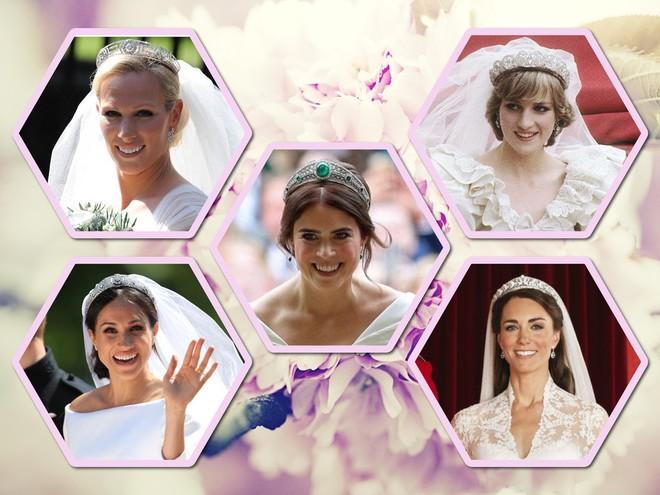 Свадебные тиары: кокошник принцессы Евгении и еще 8 украшений королевских невест