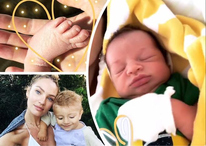 Кэндис Свейнпол наслаждается материнством