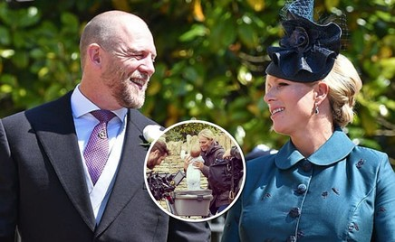 Зара Филлипс рассказала, почему назвала правнучку Елизаветы II необычным именем