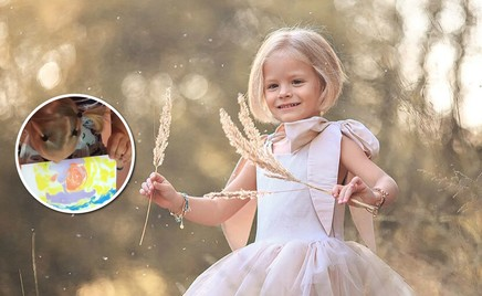 Фокус: мама Тимати показала, как сделать из ребенка Пикассо