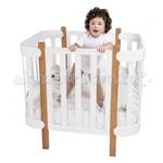 Кроватка-трансформер HB Mommy, отзывы!