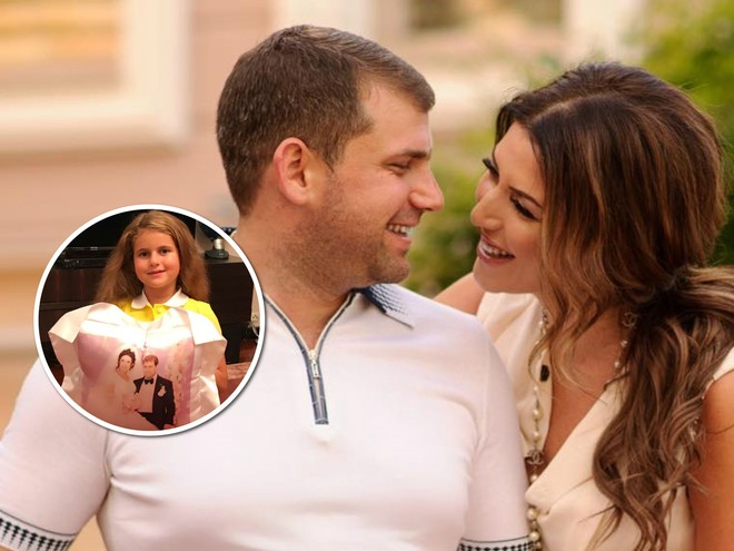 Трогает до слез: дочка Жасмин поздравила родителей с днем свадьбы
