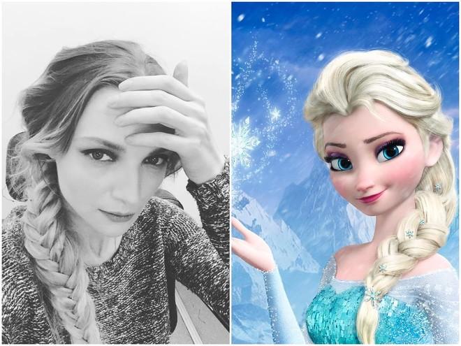 Екатерина Вилкова стала похожа на Эльзу из «Холодного сердца»