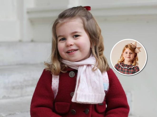 В честь принцессы Шарлотты создали удивительное платье