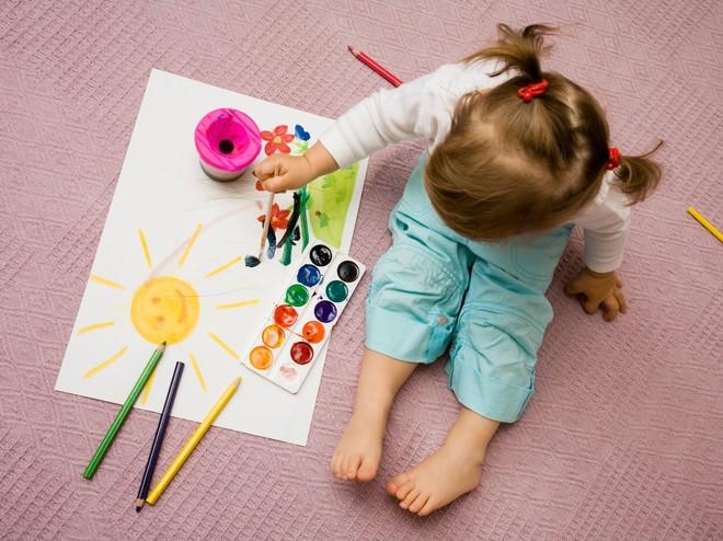7 необычных техник рисования, которые под силу даже малышам
