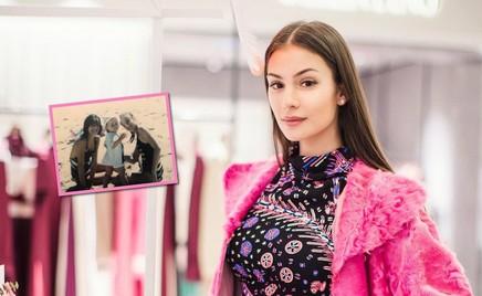 Сестра Анастасии Шубской показала ее детскую фотографию