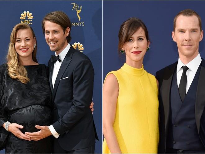 Чей образ лучше: беременные звезды на церемонии «Эмми»
