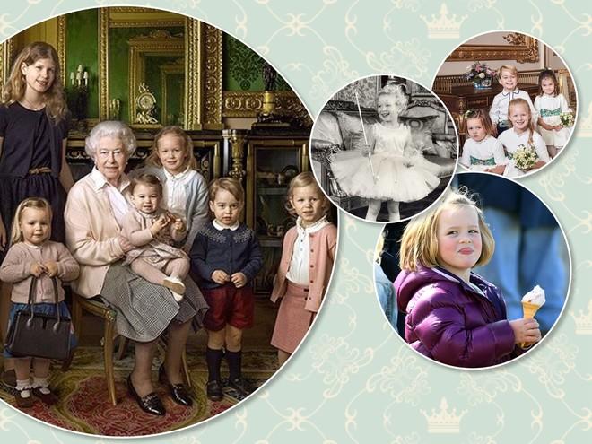 Генетика: девочки в королевской семье удивительно похожи на своих бабушек