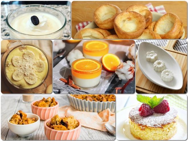 Йоркширский, белый и еще 5 рецептов вкусных пудингов