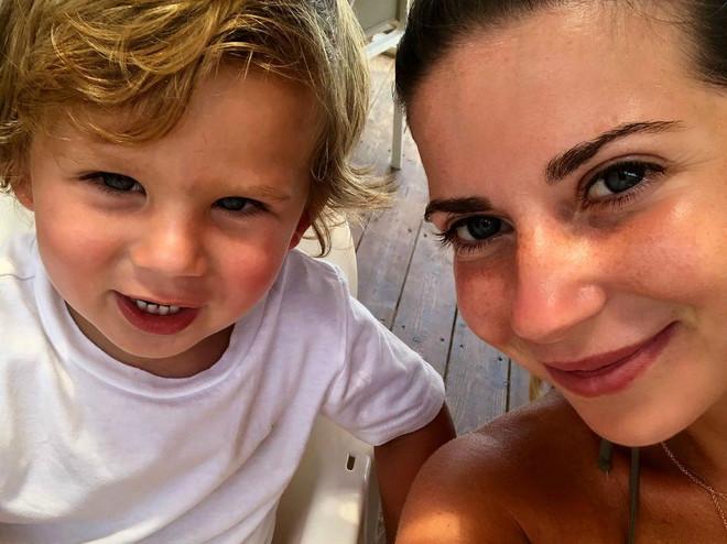 Галина Юдашкина отвела сына в детский сад