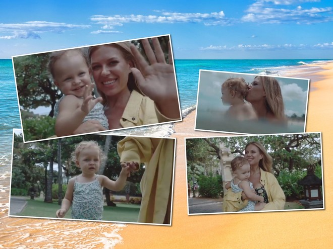 Рита Дакота опубликовала умилительное видео с дочкой из отпуска