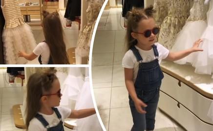 Муки выбора: дочь Кристины Асмус на шопинге