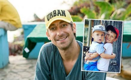 Мужской отдых: Артем Ткаченко с сыновьями отправились на рыбалку