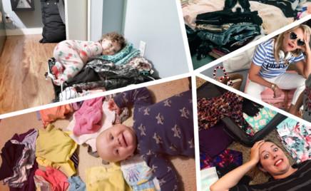 Картинки с натуры: как мамы собирают чемоданы перед отпуском