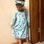Платье для доченьки:)