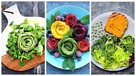 ВИДЕО: делаем съедобные «розы»