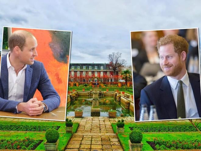 Это твое, это мое: принцы Уильям и Гарри вновь делят королевский дворец