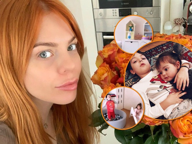 Анастасия Стоцкая показала, как оборудовала детскую комнату