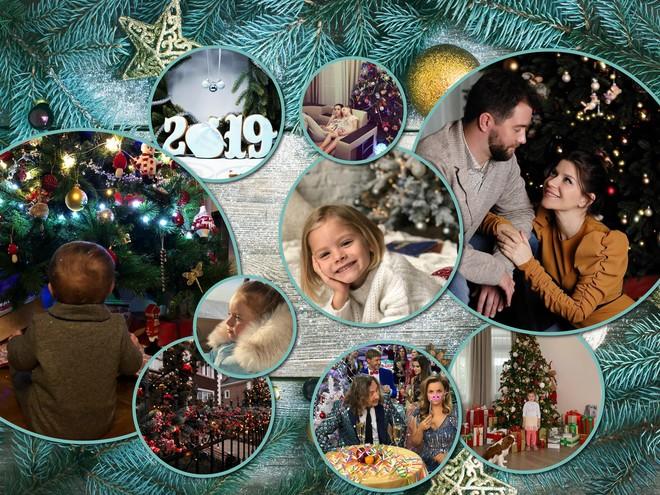 Подготовка к Новому году: нарядные елки, декор и подарки знаменитостей