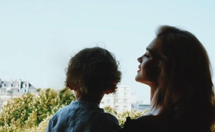 На отдыхе: Наталья Водянова показала младшего сына