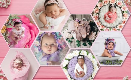 Цветочки: 30 фотографий новорожденных малышей