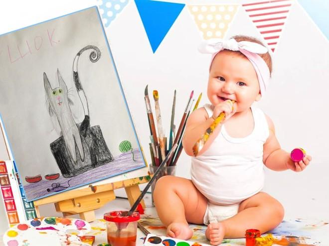 Совет дня: сохраняйте спокойствие, если ваш ребенок рисует темными цветами