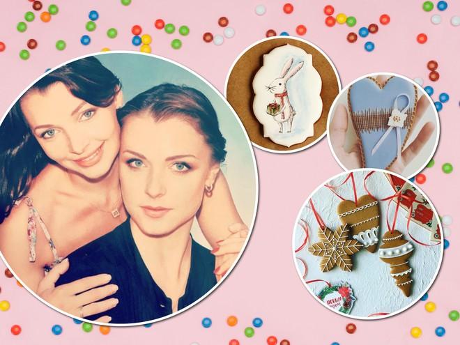 Актрисы Наталия и Светлана Антоновы открыли пряничную мастерскую