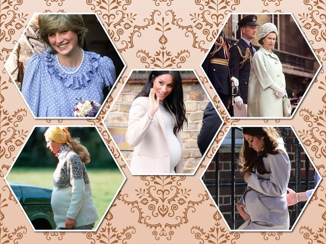 Будущие мамы в королевской семье: кто скрывал или демонстрировал животик