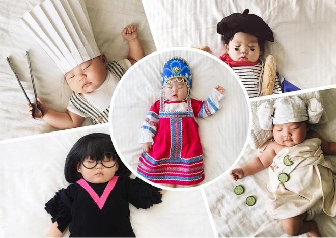 Мама создала удивительный фотопроект со своей спящей дочкой