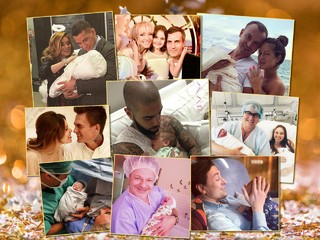 Муж на родах: 9 звездных отцов, которые присутствовали при рождении своих детей