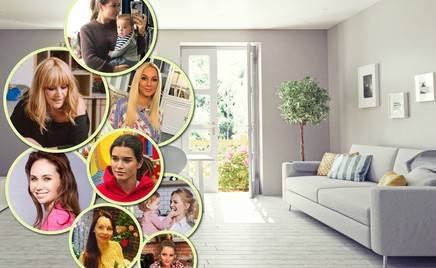 Дом, милый дом: где живут знаменитые дети и их родители