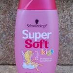 Super Soft детский шампунь 2в 1 от Schwarzkopf.Мой отзыв.