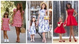 Family look: образы для мамы и дочки