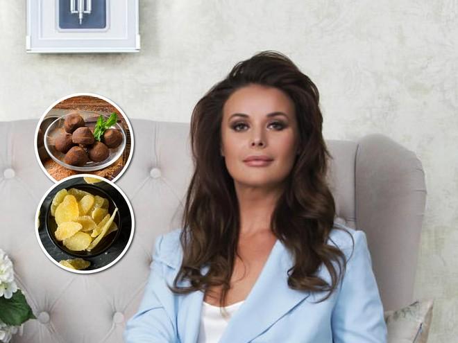 Оксана Федорова поделилась рецептами домашних конфет, которые делает своим детям