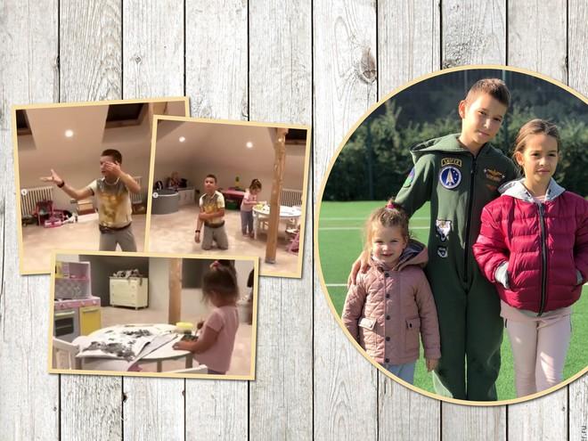 Видео: супруг Ксении Бородиной показал детскую игровую в их новом доме