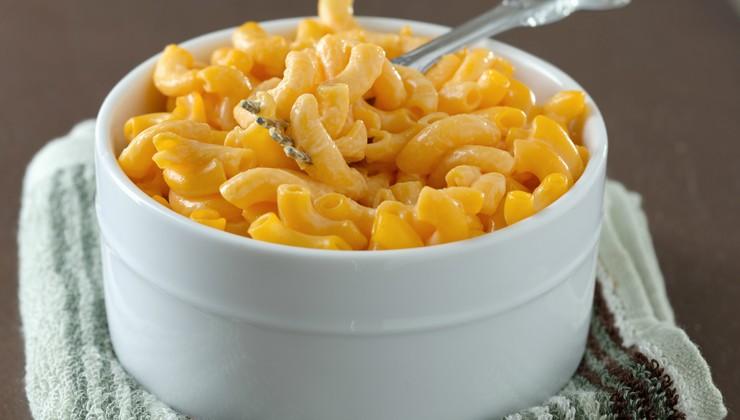 Цельнозерновые макароны со сливочным соусом