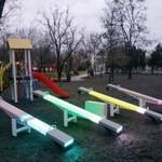 Led-качели в Одессе ⭐️⭐️⭐️🎡