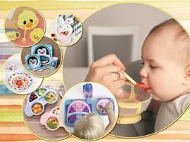 Детская посуда: от первого прикорма до школьного возраста