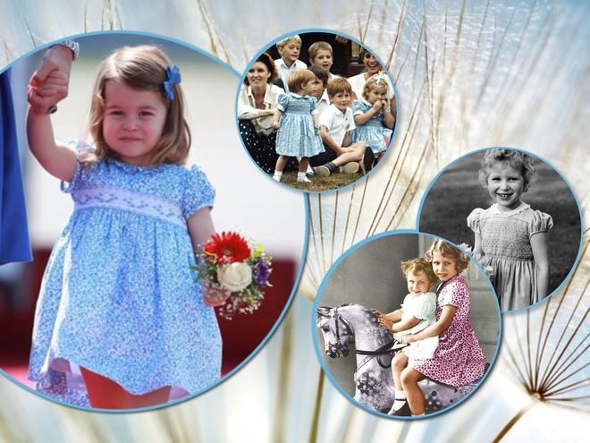 Стало известно, какие платья носят все девочки в королевской семье