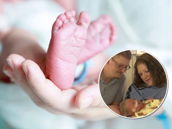 Вопреки прогнозам: женщина с диагнозом бесплодие родила рекордно крупного малыша