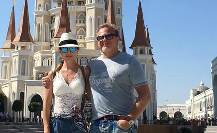 Послание на песке: Наталья Подольская призналась мужу в любви