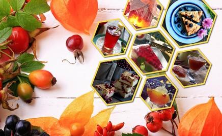 Чизкейк с брусникой, творожный пирог с рябиной и еще 7 рецептов с осенними ягодами