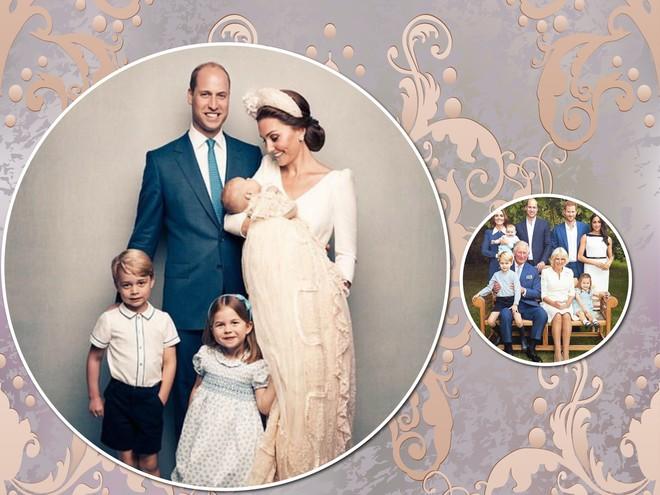 Вся семья и принц Луи: новые официальные королевские портреты