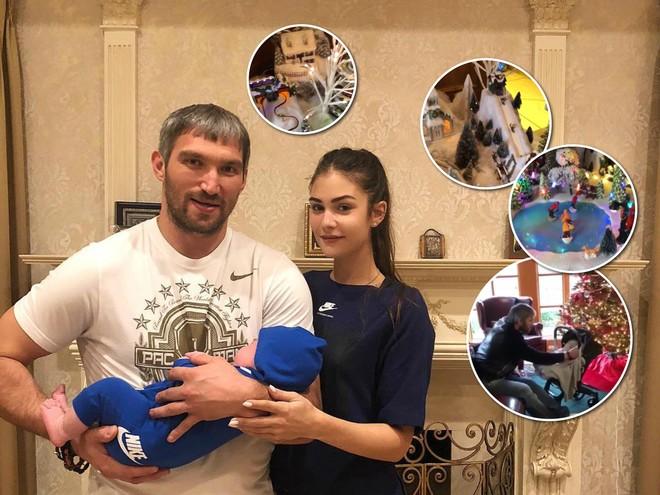 Анастасия Шубская и Александр Овечкин взяли сына на его первую вечеринку